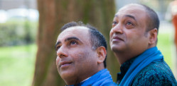 Niranjan and Subodh ~ First Married Asian Gay Couple