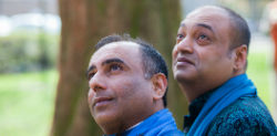 Niranjan and Subodh ~ First Married Asian Gay Couple
