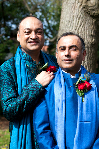 Having been a couple for two decades, Niranjan and Subodh could finally join in their long-awaited matrimony and call each other husband and husband.