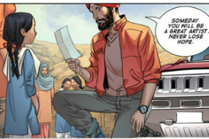 Super Sikh is a comic series jointly created by writer Eileen Alden and venture capitalist Supreet Singh Manchanda.