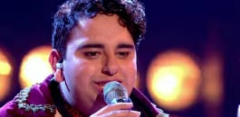 A spectacular performance by the 19-year-old Vikesh Champaneri has ushered him through to the semi-final of series 4 of The Voice UK.