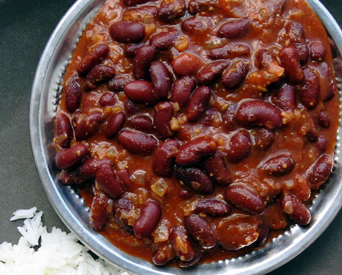 7 शाकाहारी व्यंजन आपको खाने चाहिए - राजमा
