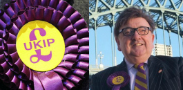 Aftab Ahmed Asian man threatens to behead UKIP Candidate