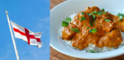 Indian food banned at St George's Day event