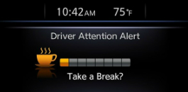 Nissan's Driver Alert to detect Drowsy Driving