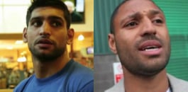 Amir Khan has ended months of speculation by announcing he will fight Chris Algieri, instead of Kell Brook.