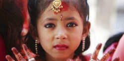 Indian Child Bride seeks help from School