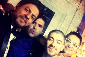 SRK and Zayn selfie breaks Twitter India record