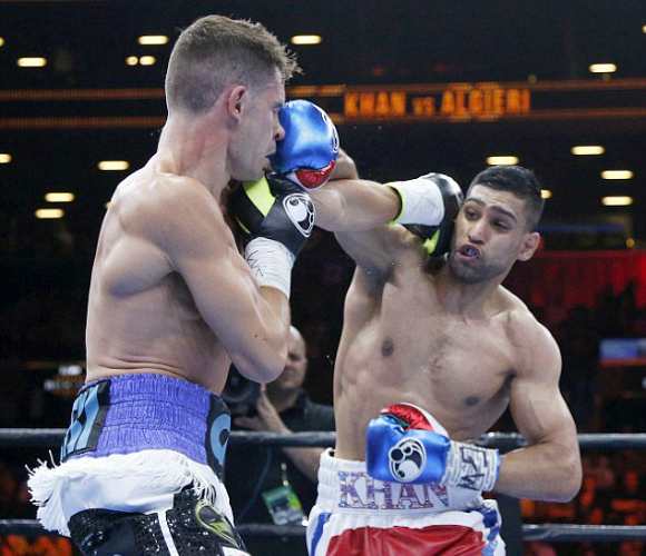 Amir Khan outpoints Chris Algieri ~ Mayweather next?