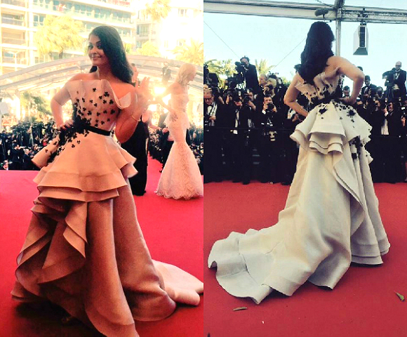 Aishwarya Rai Bachchan tops Cannes Best Dressed list for 2015.