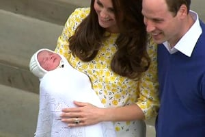 The British Monarchy broke its century-old tradition by announcing the royal birth on Twitter
