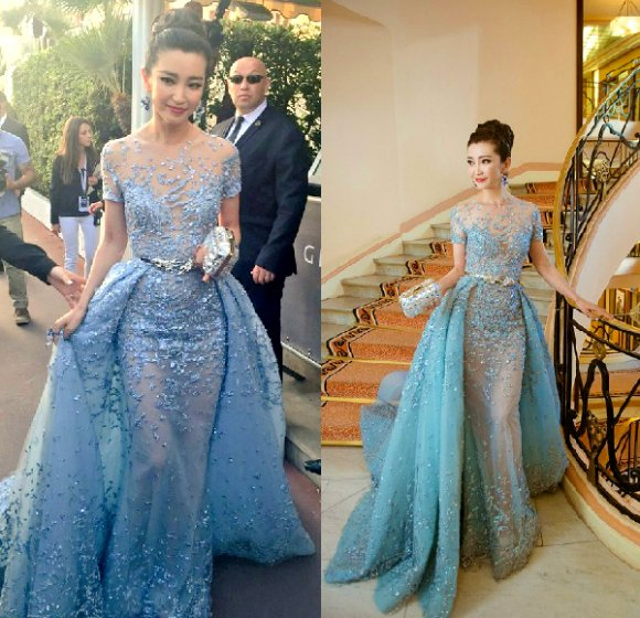 A popular contender on best dressed lists is Li Bingbing and her Zuhair Murad Couture gown.