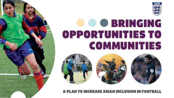 The FA have released a four-year plan to address 'longstanding concerns' over the under-representation of Asian in English football.
