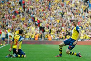 2015 FA Cup FInal Arsenal Aston Villa