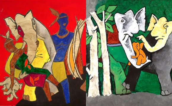 Indian Art Week MF Husain