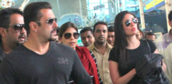 Salman and Kareena return from Kashmir