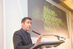 Asian Business Awards Midlands 2015 Nihal Arthanayake