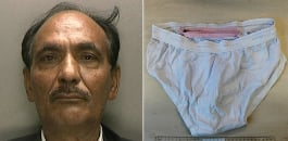 Shaukat Ali Cheema, 59, has been sentenced to five years in prison for smuggling fake passports in a special pair of underwear.