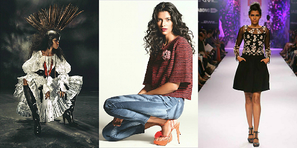 Pooja Mor debuts for LV