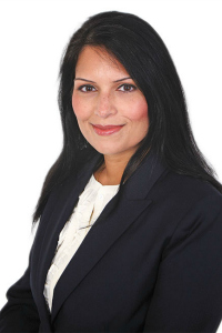 Priti Patel British Asian Conservative MP