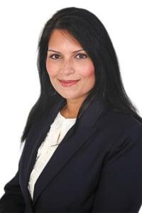 Priti Patel British Asian Conservative MP