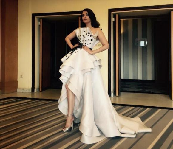 Aishwarya Rai Ravishes in Ralph & Russo at Cannes