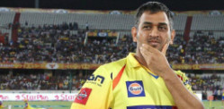 How did MS Dhoni lead CSK to the IPL 8 Final?