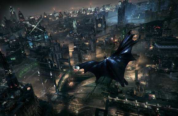 The series is not new to the open world, but the previous instalments pale in comparison to the scale of the world of Arkham Knight.
