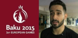કૈસ અશફાકે 2015 યુરોપિયન રમતોમાં બ્રોન્ઝ જીત્યો