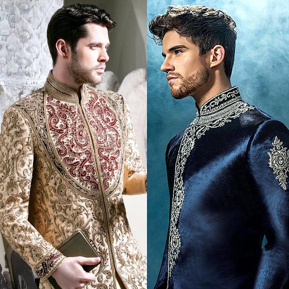 Colour Sherwani for Men