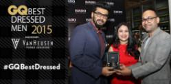 GQ India celebrates Best Dressed Men 2015