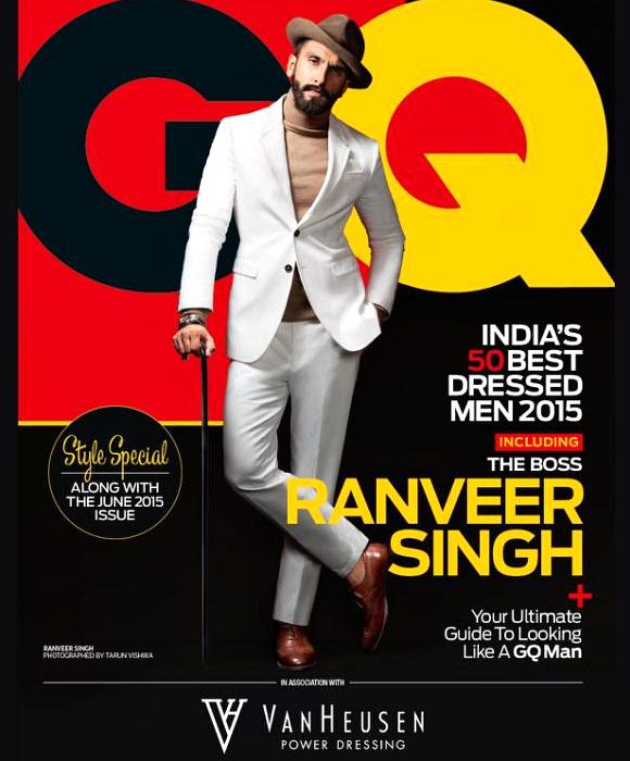 GQ Ranveer Singh