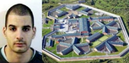 Haroon Ahmed has escaped from jail in Staffordshire by walking out its front door.