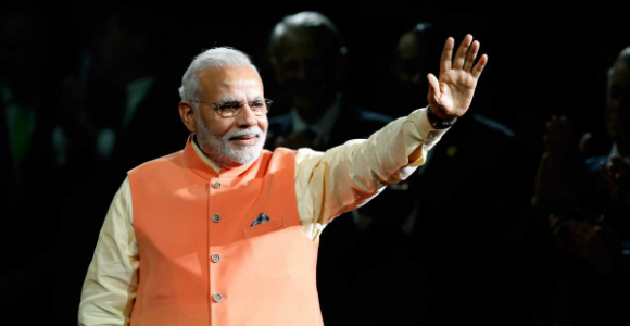 Narendra Modi has drawn criticism for a 'sexist' compliment he gave to the Prime Minister of Bangladesh, Sheikh Hasina.