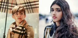 Romeo Beckham has impressed Indian model, Neelam Gill, on the set of a video shoot.