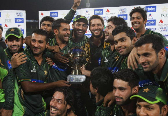 Pakistan Zimbabwe Pakistan win T20 Series