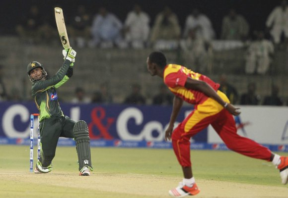 Pakistan Zimbabwe 1st ODI Gaddafi Stadium Lahore