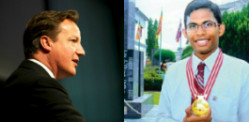 Sri Lankan AIDS researcher impresses David Cameron