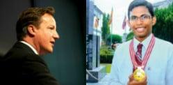 Sri Lankan AIDS researcher impresses David Cameron