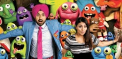 Diljit Dosanjh and Neeru Bajwa delight in Sardaar Ji