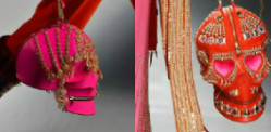Manish Arora launches edgy Skull Handbags