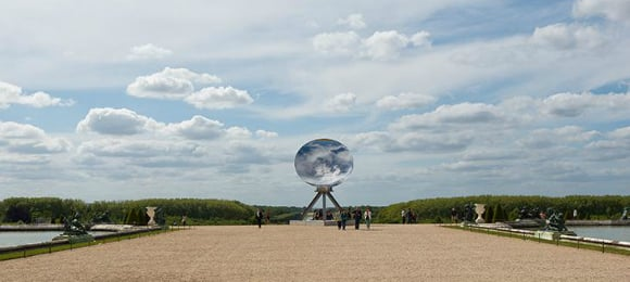 Anish Kapoor stirs Versailles with Vagina Sculpture