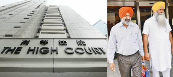 Five Pakistani men were jailed for 12-19 years for kidnapping three Indian businessmen in Hong Kong.