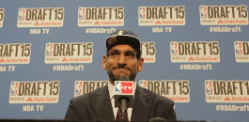 Satnam Singh is First Indian Drafted in NBA