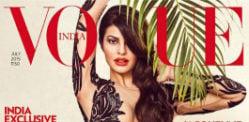 Jacqueline Fernandez covers Vogue India