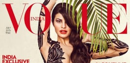 Jacqueline Fernandez Seduces in Vogue India's cover