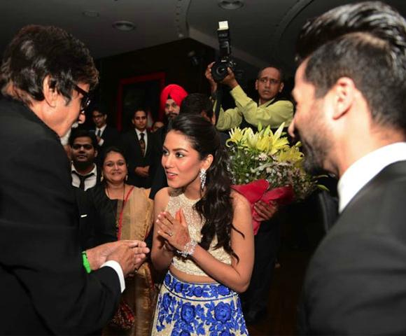 Amitabh Bachchan Mira and Shahid