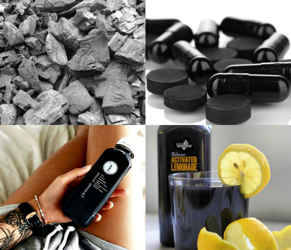 Charcoal Drink Pills