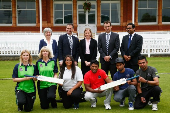 The England and Wales Cricket Board is rolling out new plans to encourage people of various background to take up cricket.