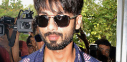 Shahid Kapoor arrives in Delhi for his Wedding